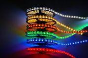 светодиодная лента - разные цвета - в наличии - от 900 тг Рудный
