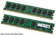 Два модуля Оперативной памяти (ОЗУ) NCP DDR2 PC2-6400 1, 5 Гб (NCPT7AUD
